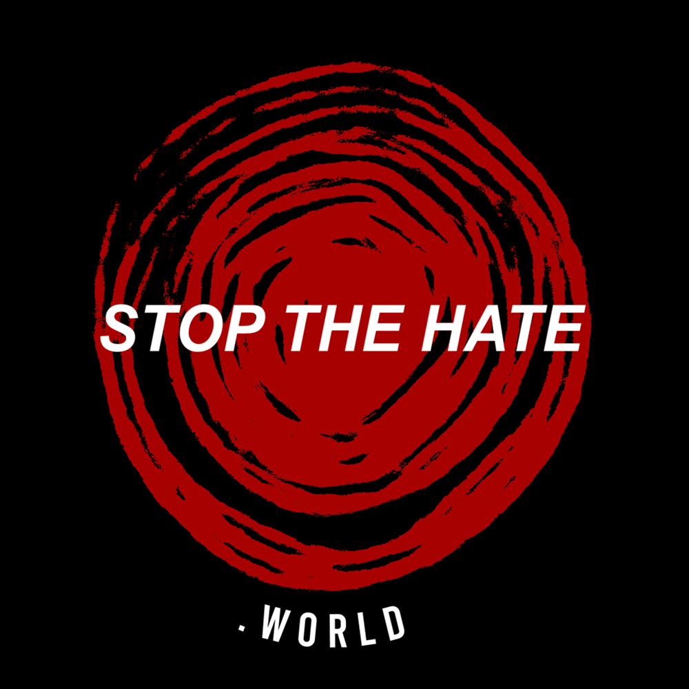 stop the hate el paso logo
